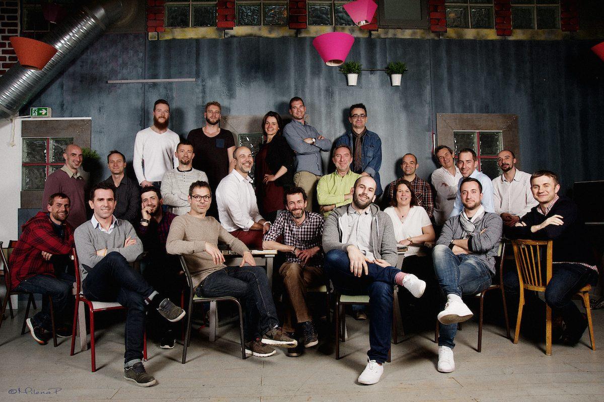 portrait corporate, portrait d'équipe, collaborateurs, Les Jules, start up, photographe, portrait paris