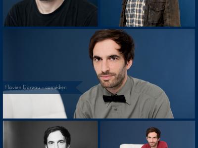 Portraits de comédiens - Flavien Dareau