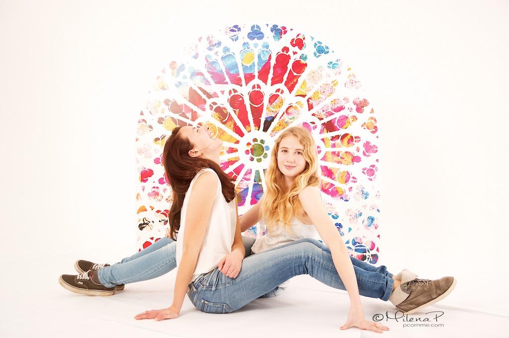 Mes soeurs adolescentes
