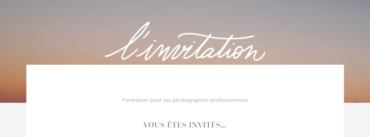 formation, pro,portrait, photo, photographe, ceci est une invitation