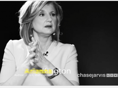 Ce que j'ai appris - Ariana Huffington chez Chase Jarvis