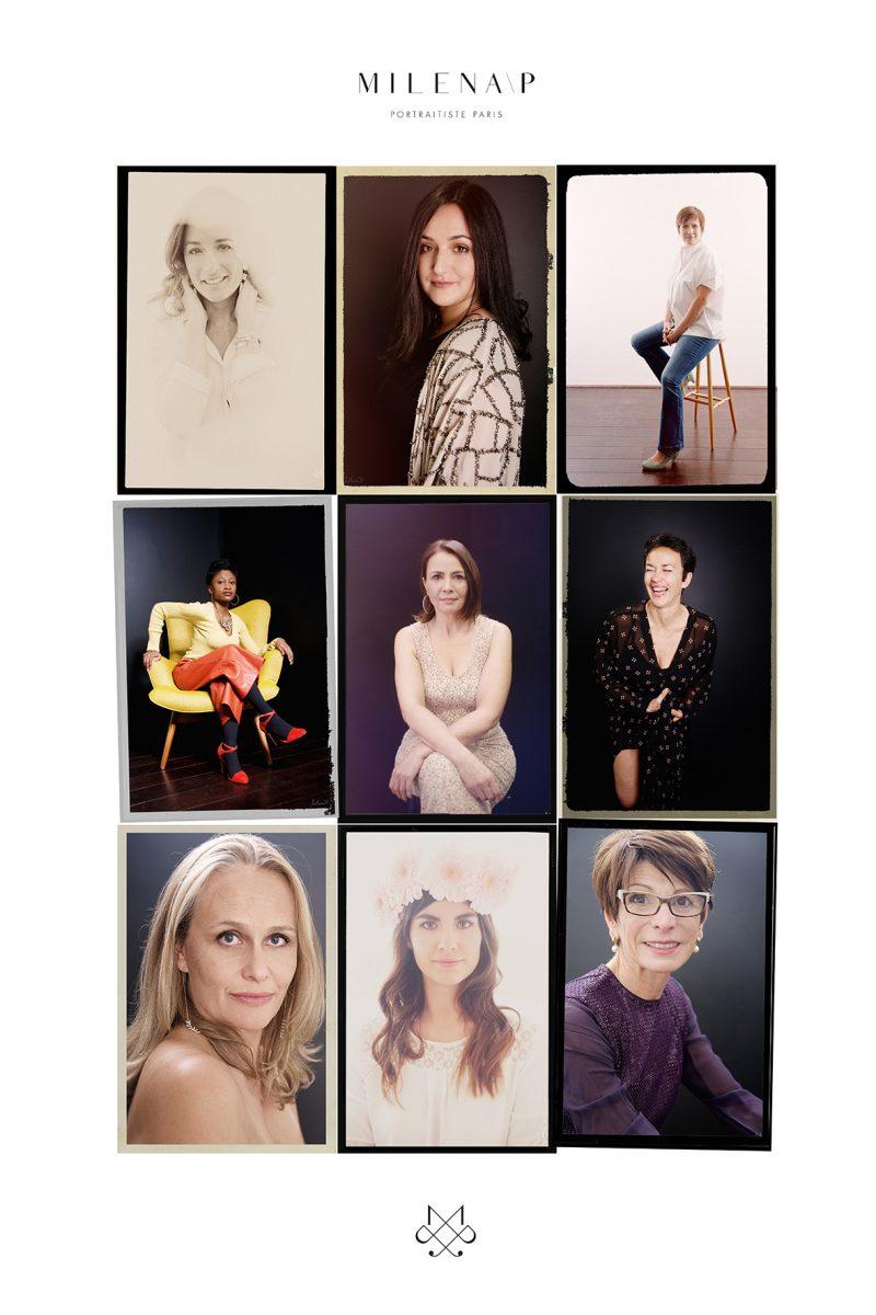 portrait de femme, expérience, coffret, cadeau, tirages, bon cadeau, cadeau pour femme, luxueux , 3XM