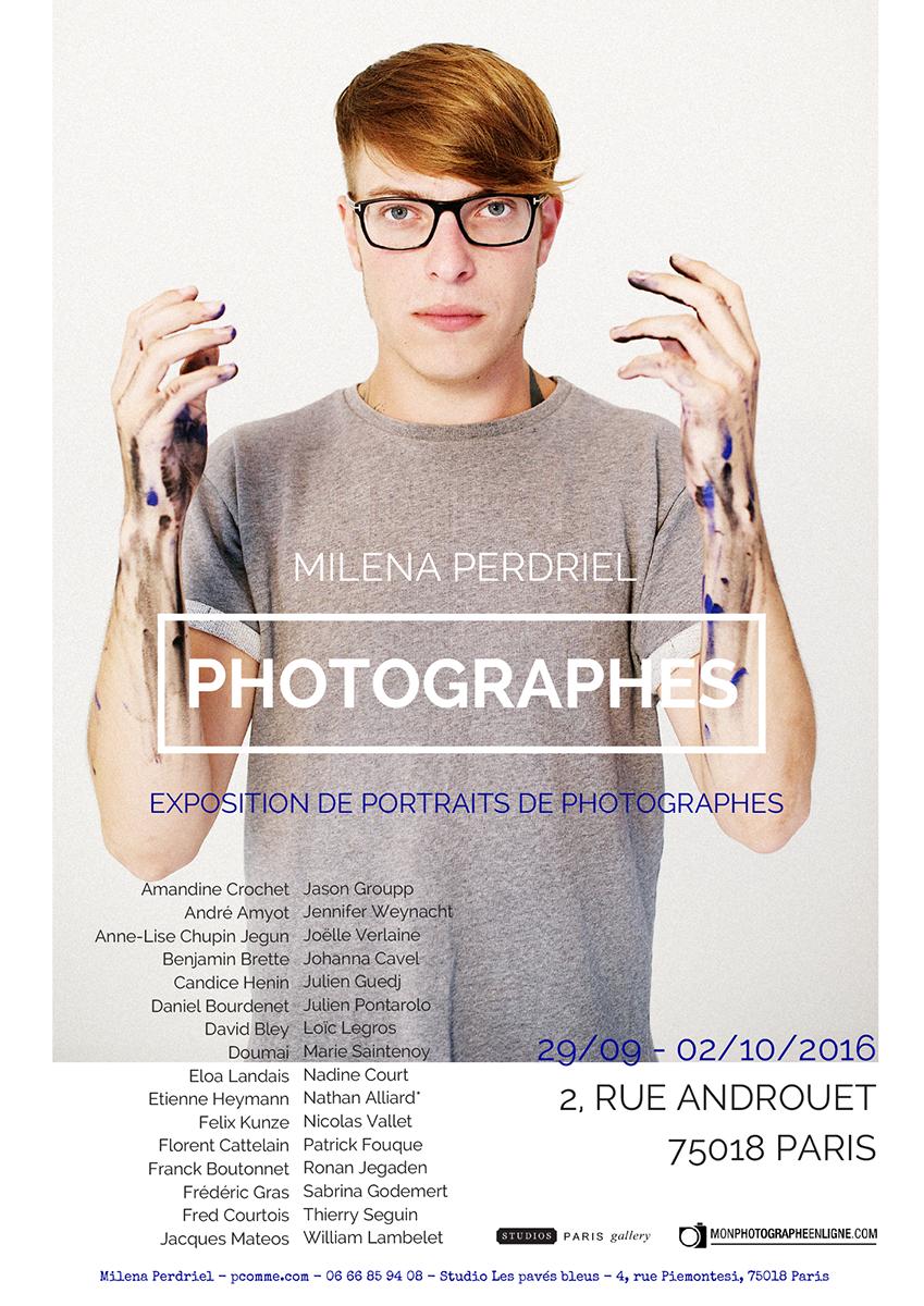 portrait, photographe, exposition, personnelle, studios de Paris, Montmartre, art, portrait d'art,