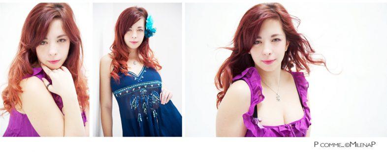 Portrait, glamour, contemporain, moderne, femme, beauté, studio, séance photo, photographe