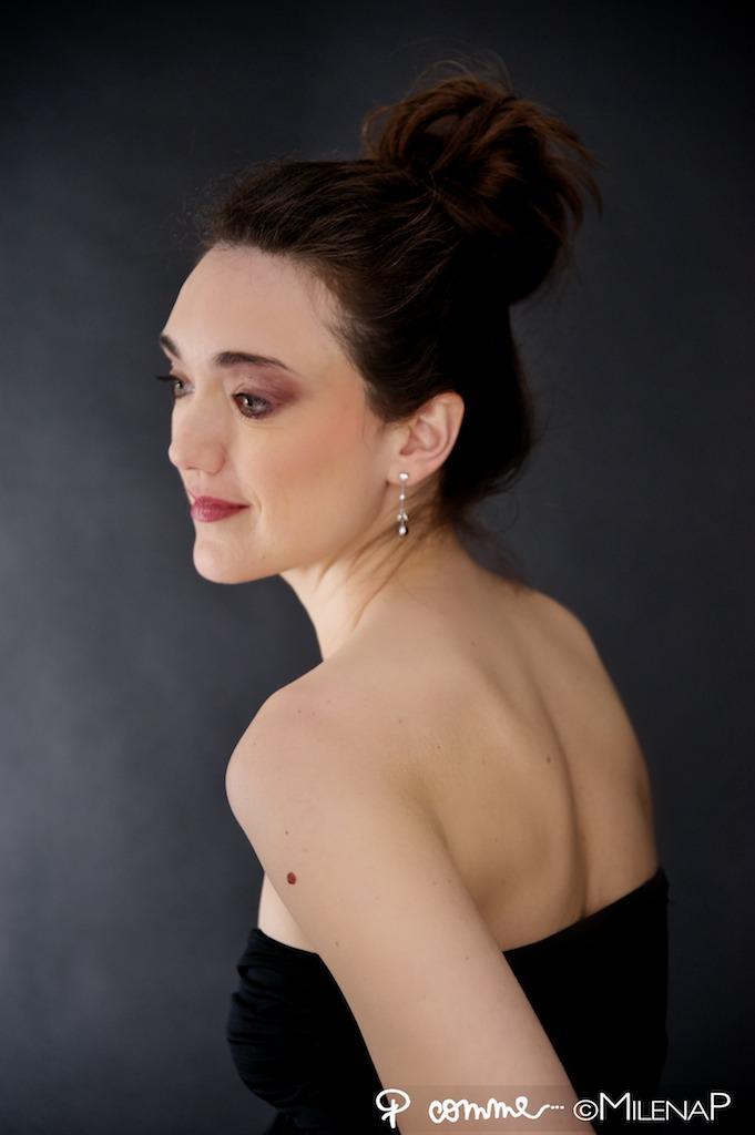 portrait, glamour, photographe, studio, femme, cadeau