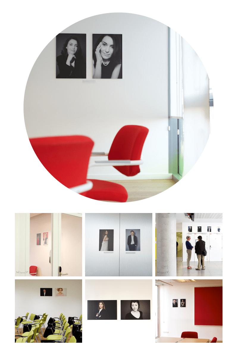 Exposition photo, photographe, corporate, seance photo, studio, événement, cowering, start-up, Paris, studios singuliers, portrait