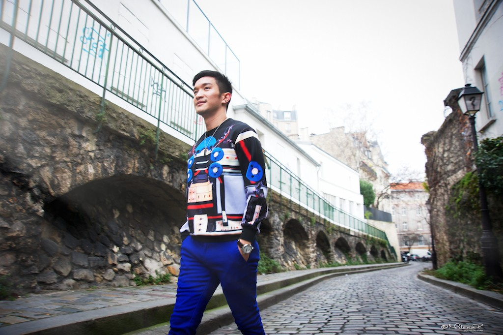 Photographe, portrait, Paris, doan diang, vietnamien, blogger, montmartre, séance photo, mode