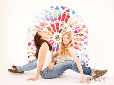 portrait, photographe, paris, séance photo, P comme Paris, Paris, souvenir, cadeau, original, ado, adolescent, cousines, soeurs