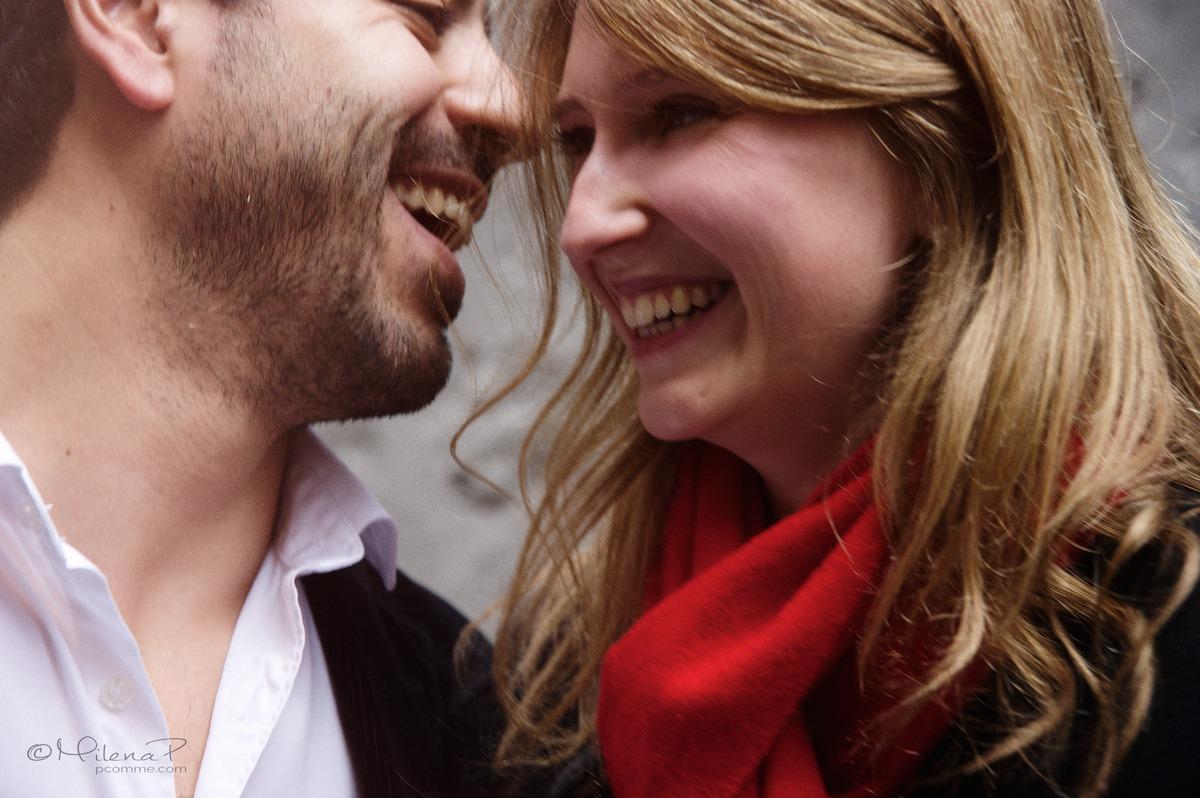 seance-photo-couple-Paris, Montmartre, beloved,