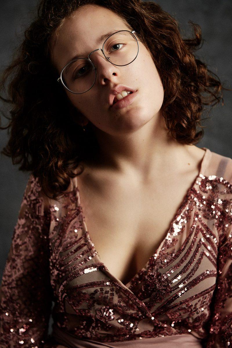 portrait, femme, ado, robe, élégance, photographe, portrait, Paris