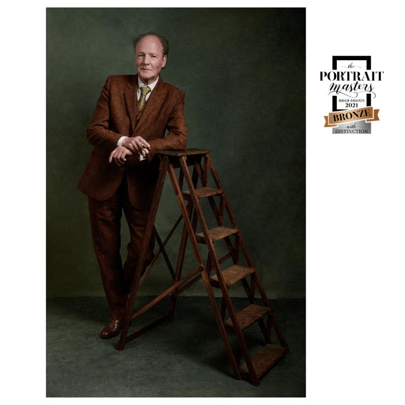 portrait d'homme, 60 ans, style, élégant, photographie de portrait