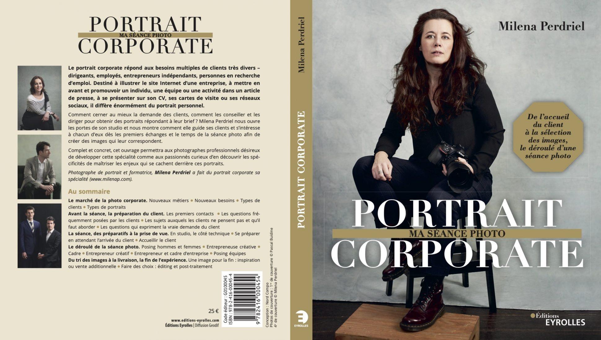Portrait corporate : Ma séance photo quatrième de couv livre photographe pro